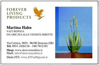 Immagine di Martina Hahn, incaricata Forever Living Products
